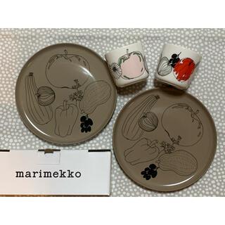 marimekko - マリメッコ☆タルフリ☆ラテマグ &プレート セット♪