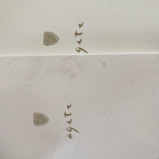 agete(アガット)の最終お値下げ agete アガット K10 オパールリング K10リング  レディースのアクセサリー(リング(指輪))の商品写真