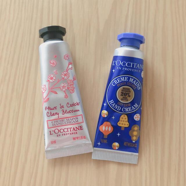 L'OCCITANE(ロクシタン)のロクシタン 10mlハンドクリーム コスメ/美容のボディケア(ハンドクリーム)の商品写真