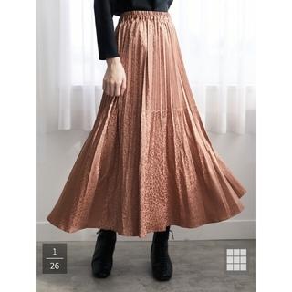 green parks - 【今期購入】SUGAR SPOON レオパードサテンスカート  sizeフリー