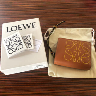 LOEWE - 新品 ロエベ   コンパクト ジップ ウォレット  財布