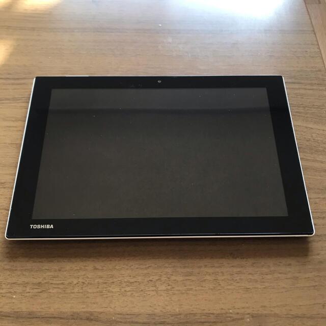 ANDROID(アンドロイド)のTOSHIBA AndroidタブレットA205SB ホワイト スマホ/家電/カメラのPC/タブレット(タブレット)の商品写真