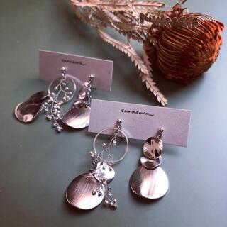 732 silver earrings(ピアス)