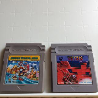 ゲームボーイ - 任天堂 ゲームボーイ ソフト テトリス  スーパーマリオランド