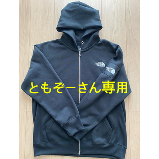 THE NORTH FACE - THE NORTH FACE  スクエア ロゴ フルジップ フーディ