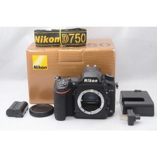 Nikon - 【良品】ニコン Nikon D750 ボディ  《元箱入り》