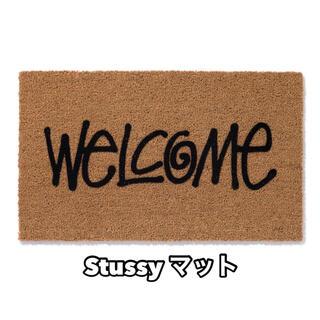 ステューシー(STUSSY)のstussy ステューシー welcomeマット 玄関マット(その他)