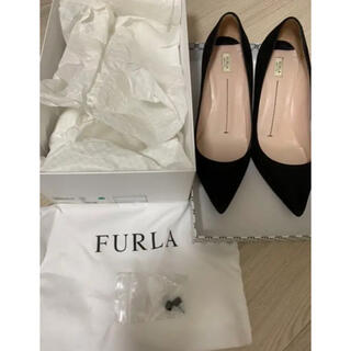 Furla - FURLA  OPERA スエードパンプス ブラック