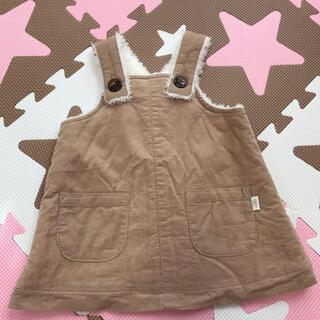 アカチャンホンポ(アカチャンホンポ)のジャンパースカート ベビー服70(ワンピース)