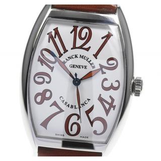 フランクミュラー(FRANCK MULLER)の☆美品 フランクミュラー カサブランカ サハラ メンズ 【中古】(腕時計(アナログ))