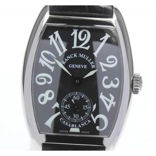 フランクミュラー(FRANCK MULLER)の☆美品 フランクミュラー カサブランカ  7500S6 レディース 【中古】(腕時計)