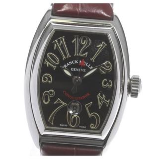 フランクミュラー(FRANCK MULLER)のフランクミュラー コンキスタドール  8002 L SC レディース 【中古】(腕時計)
