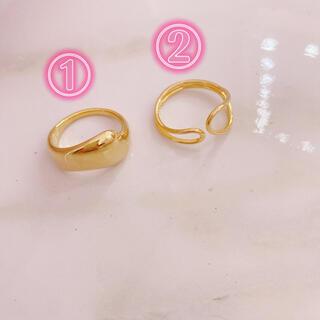 ディーホリック(dholic)のDHOLIC  ②番 指輪 リング ゴールド dholic(リング(指輪))