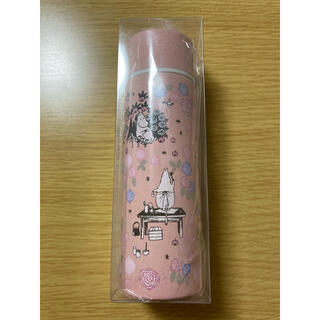リンネル7月号★新品★ムーミンステンレスミニボトル★ミニタンブラー水筒★ピンク