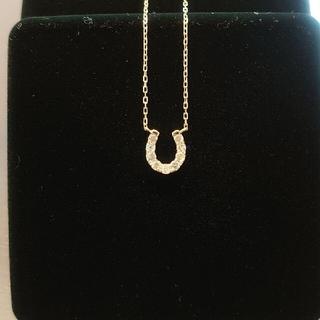 JEWELRY TSUTSUMI - ダイヤモンド ホースシューネックレス 馬蹄K10