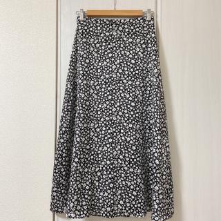NATURAL BEAUTY BASIC - natural beauty basicの小花柄ロングスカート
