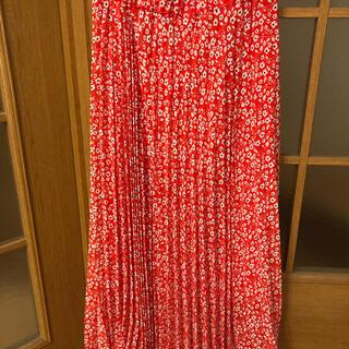 Liala×PG 花柄ロングスカート レディース