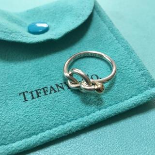 Tiffany & Co. - ティファニー フック&アイ ラブノット リング 指輪 10号