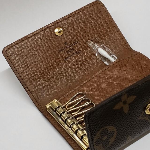 LOUIS VUITTON(ルイヴィトン)の美品☆ルイヴィトン モノグラム キーケース レディースのファッション小物(キーケース)の商品写真