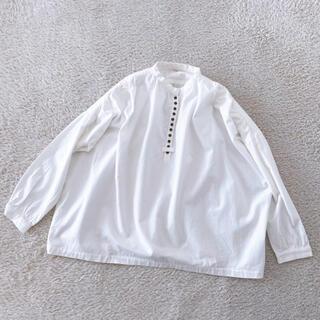 nest Robe - ichi イチ ドロップショルダーシャツ ブラウス 長袖シャツ