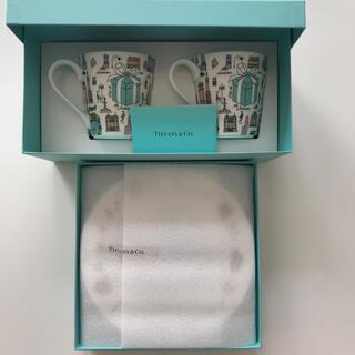 Tiffany & Co. - 新品◆ティファニー 5TH アベニュー ペア マグカップ&デザートプレート