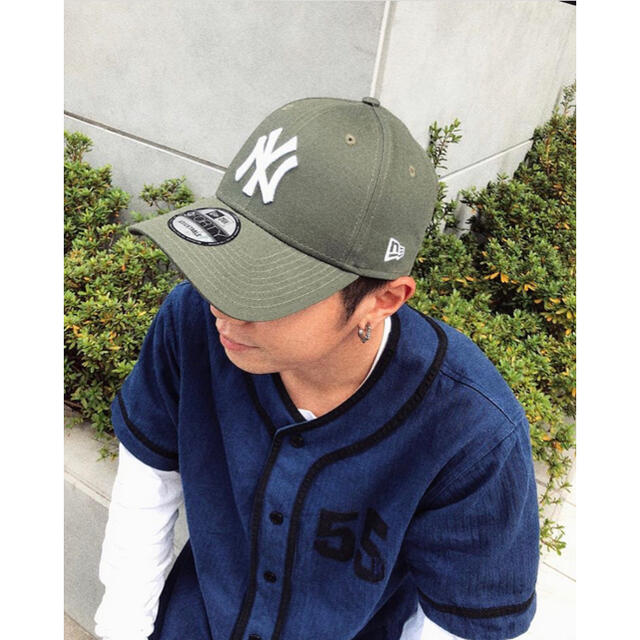 NEW ERA(ニューエラー)のニューエラキャップ カーキ グリーン メンズの帽子(キャップ)の商品写真