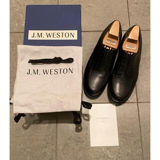 ジェーエムウエストン(J.M. WESTON)の【極美品】J.M.WESTON GOLF 641 黒(ドレス/ビジネス)
