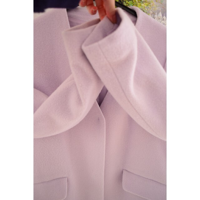 MISCH MASCH(ミッシュマッシュ)のミスティック プライムパターン vis ジルスチュアート マーキュリーデュオ T レディースのジャケット/アウター(ロングコート)の商品写真