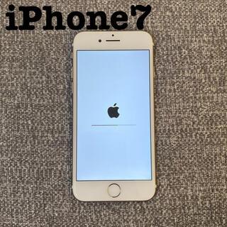 Apple - iPhone7 32G ゴールド バッテリー容量84%
