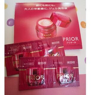 プリオール(PRIOR)のプリオール ジェル美容液、マスクイン化粧水・乳液の試供品(化粧水/ローション)