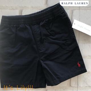 Ralph Lauren - 新作 24m90cm ラルフローレン パンツ コットン ツイル ネイビー