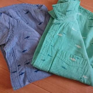 GU - ジーユー 140  半袖 ポロシャツ2枚