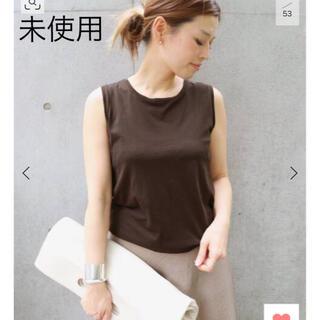 ドゥーズィエムクラス(DEUXIEME CLASSE)の未使用! ドゥーズィエムクラス   terrific Tシャツ ノースリーブ(Tシャツ(半袖/袖なし))