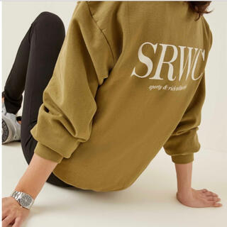 BEAUTY&YOUTH UNITED ARROWS - sporty&rich upper east side sweat olive