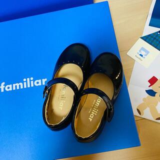 ファミリア(familiar)のファミリア  フォーマルシューズ 革靴 15㎝ 組曲 アートレター(フォーマルシューズ)