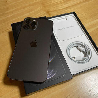 Apple - iPhone12 Pro Max 128GB グラファイト SIMフリー