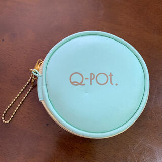 キューポット(Q-pot.)のQ-pot.アクセサリーポーチ*ミントグリーン(ポーチ)