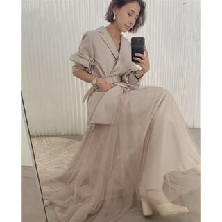 Ameri VINTAGE - アメリ Ameri  TRINTY JKT TULE DRESS 今季