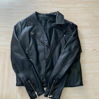 ジーユー(GU)のGU ライダースジャケット 【SAORIさん専用】(ライダースジャケット)