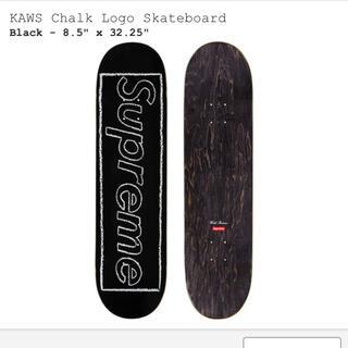 Supreme - Supreme  KAWS Chalk Logo Skateboard deck