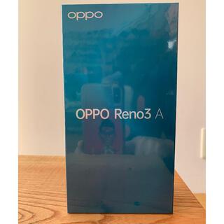 OPPO - 新品未開封◼️Y!mobile OPPO Reno3 A ブラック SIMフリー