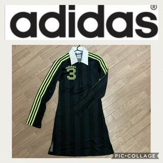 adidas - アディダス☆ウェア ワンピース ジャージ生地
