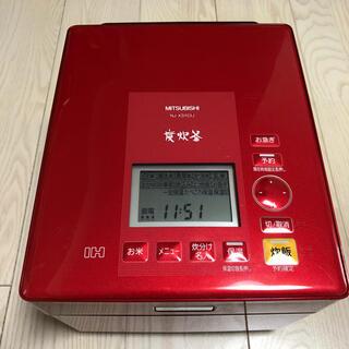 三菱 - 【値下げ済】蒸気レス炊飯器(三菱製)NJ-XS103J