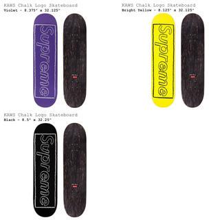 シュプリーム(Supreme)の3セット Supreme KAWS Chalk Logo Skateboard(スケートボード)