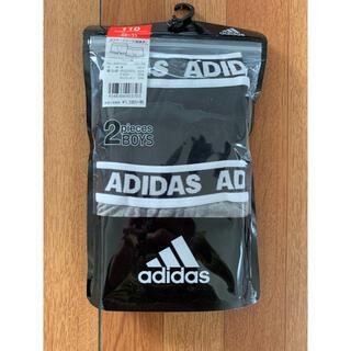 adidas - adidas 子供ボクサーブリーフ 110 2枚組1セット