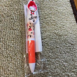 ハローキティ - いちご柄の3色ボールペン(ハローキティ)