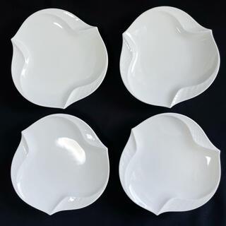 マイセン(MEISSEN)の確認用 マイセン 波の戯れ ホワイトディッシュ/プレート 4枚セット(食器)
