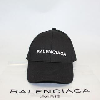 Balenciaga - 【新品未使用】BALENCIAGA キャップ 帽子 ブラック