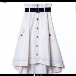 REDYAZEL - レディアゼル エクリュカラー スカート