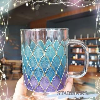 Starbucks Coffee - 海外限定❣️STARBUCKS グラスマグ 人魚シリーズ